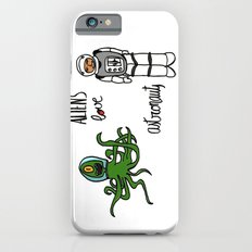 Aliens love astronauts iPhone 6s Slim Case