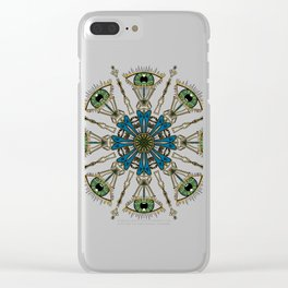 space between Clear iPhone Case