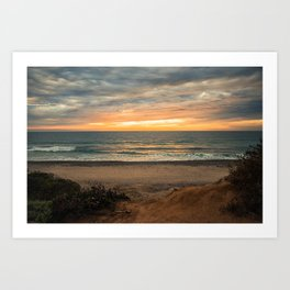 South Carlsbad State Beach Art Print