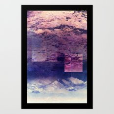 Oceans In The Sky Art Print