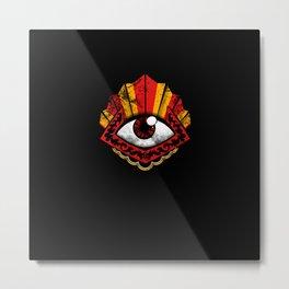 The Envy Eye Metal Print