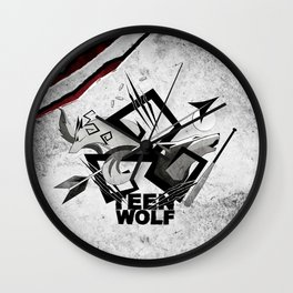 Teen Wolf: Part of the Pack Wall Clock
