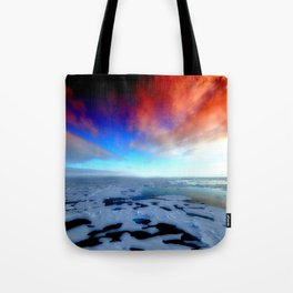 in the funky ice Tote Bag