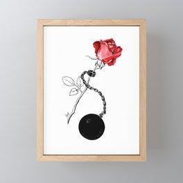 Ball &  Chain Framed Mini Art Print