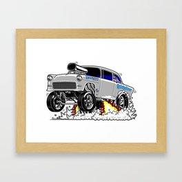 Quicksilver Gasser Framed Art Print