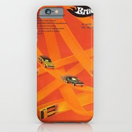 1969 Hot Wheels Italian Dealers Redline Poster with Redline Custom Camaros iPhone Case