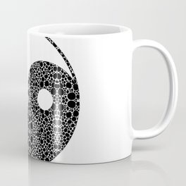 Perfect Balance 1 - Yin and Yang Stone Rock'd Art by Sharon Cummings Coffee Mug