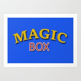 The Magic Box Art Print
