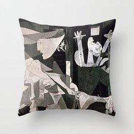 GUERNICA #2 - PABLO PICASSO Throw Pillow