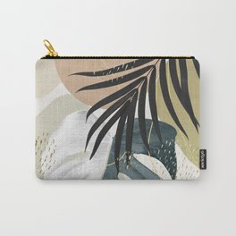 Monstera Abstract #1 #tropical #decor #art #society6 Carry-All Pouch