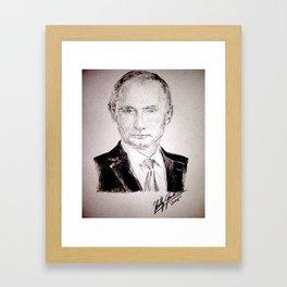 Putin Framed Art Print