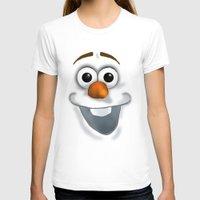 olaf T-shirts featuring Olaf by Reinafashion