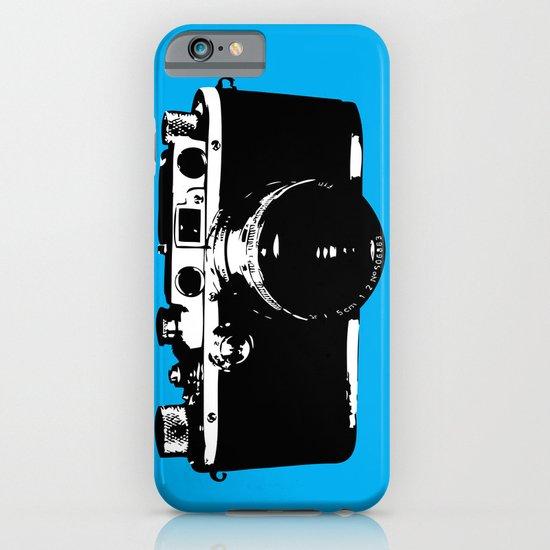 Leica in Blue iPhone & iPod Case