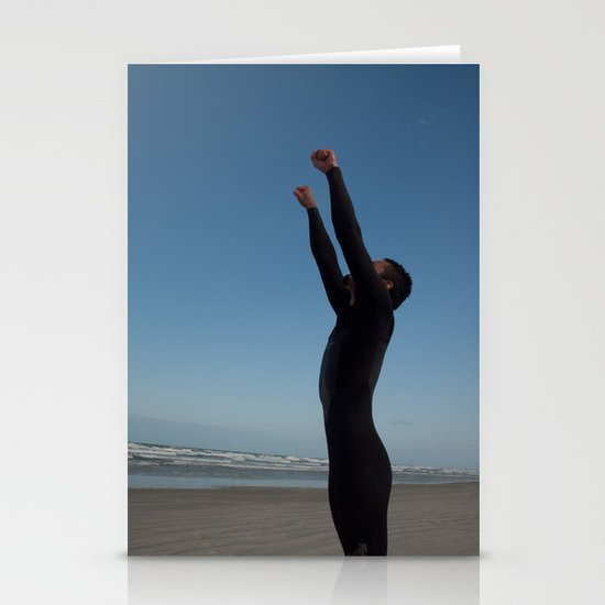 Surfer Success Stationery Cards