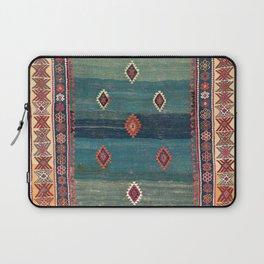 Sivas Antique Turkish Niche Kilim Print Laptop Sleeve