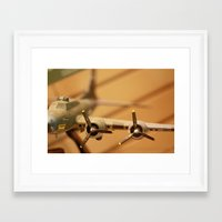 plane Framed Art Prints featuring Plane by sannngat