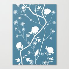 Jenny Chinoiserie Simple on pond Canvas Print