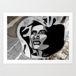 """Grand Dame Grace"" by carographic - Carolyn Mielke Art Print"
