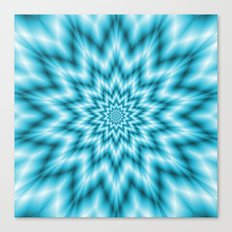 Ice Star Canvas Print