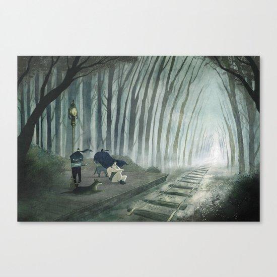 Final Fantasy VI - Phantom Line Canvas Print