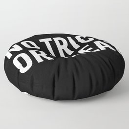 no trick or treat Floor Pillow