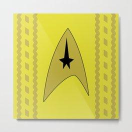 Star Trek - Kirk Metal Print