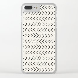 Arrows on Alabaster Clear iPhone Case