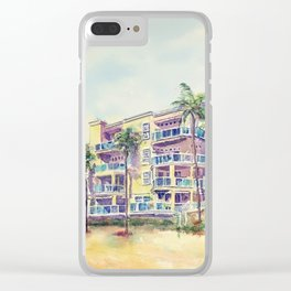 1500 E Ocean Blvd. Long Beach Clear iPhone Case