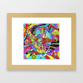 Out of Space by dana alfonso Framed Art Print