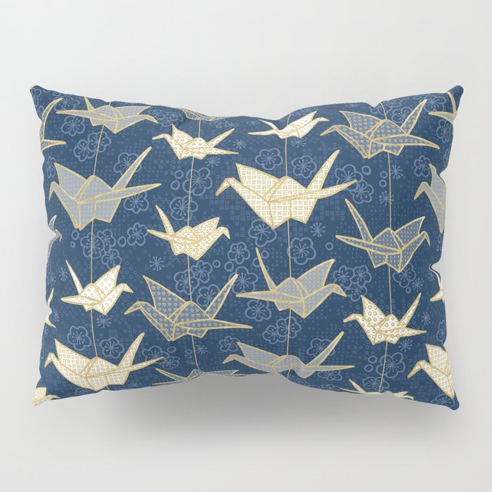 Sadako's Good Luck Cranes Pillow Sham