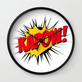 Kapow!! Wall Clock