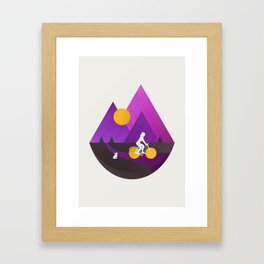 Bicycle Ride Framed Art Print