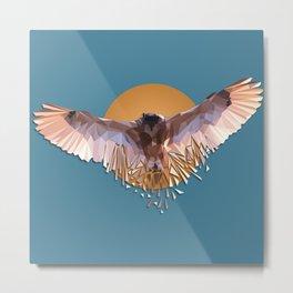 Dangerous owl Metal Print