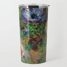 "Claude Monet ""Anemones"" Travel Mug"