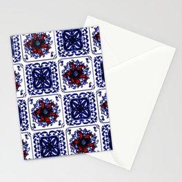 Vintage Tiles Stationery Cards