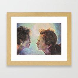 21:21 Framed Art Print