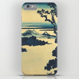Looking Left at Hine iPhone Case