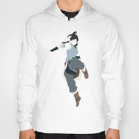 the legend of korra Hoodies featuring Korra by JHTY