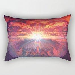 Red Lemonade_ Rectangular Pillow
