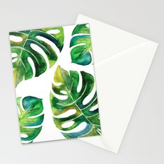 Wildness In Monstera Stationery Cards