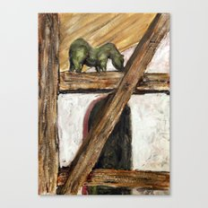 The Green Horse Canvas Print