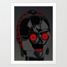 Darth-PO Art Print
