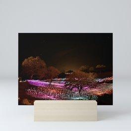Field of Light Mini Art Print