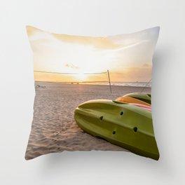 Peaceful Mornings Throw Pillow