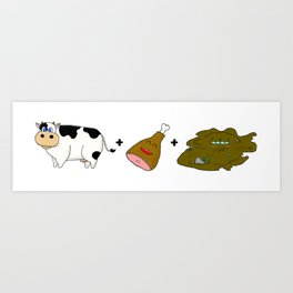 Moo-Ham-Mud Art Print