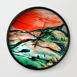 RiverDelta Wall Clock