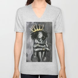 Naturally Queen IX Unisex V-Neck