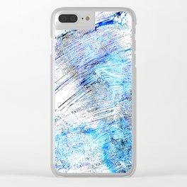 Yogurt Tornado Clear iPhone Case