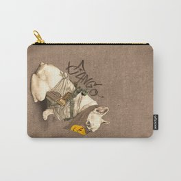 Doggy Vigilante // Django the French Bulldog Carry-All Pouch