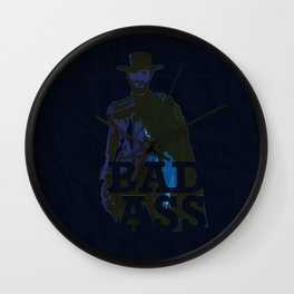 """The Man With No Name"" is a Badass Wall Clock"